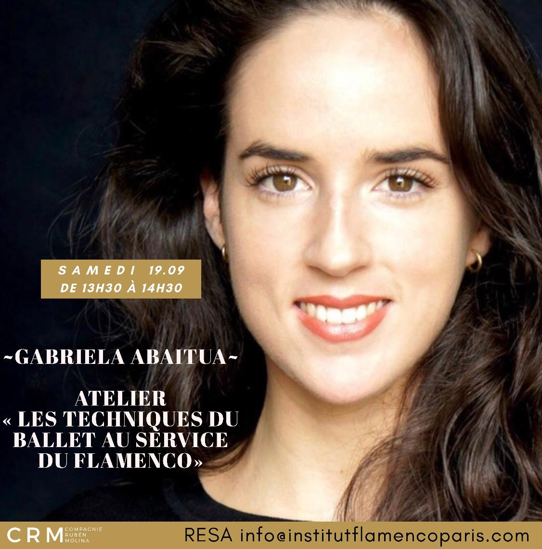 le ballet au service du flamenco Gabriela Abaitua