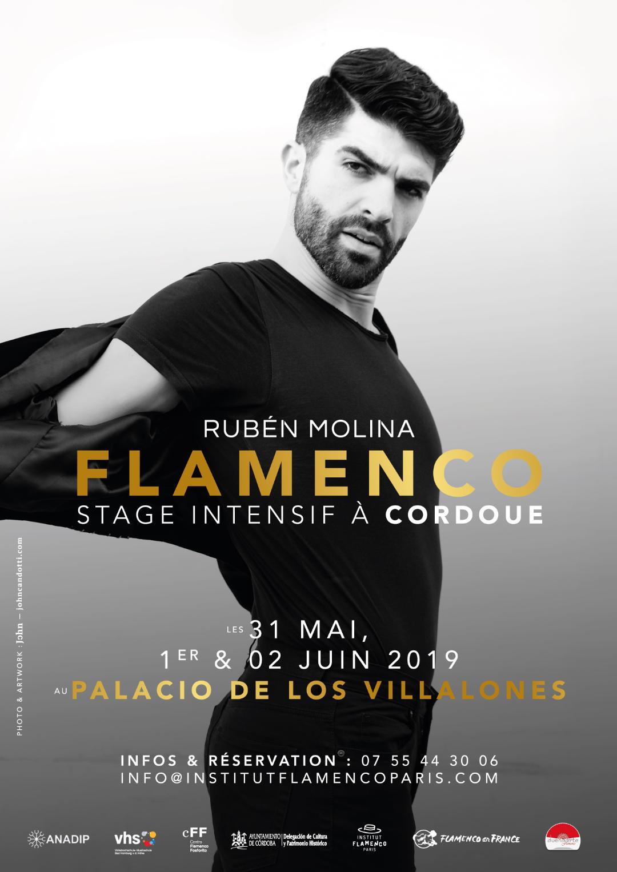 stage masterclass flamenco ruben molina andalousie cordoue